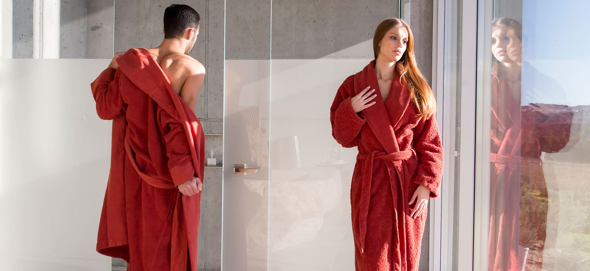 Abyss & Habidecor Bathrobes from aegptic cotton in exclusive design and workmanship