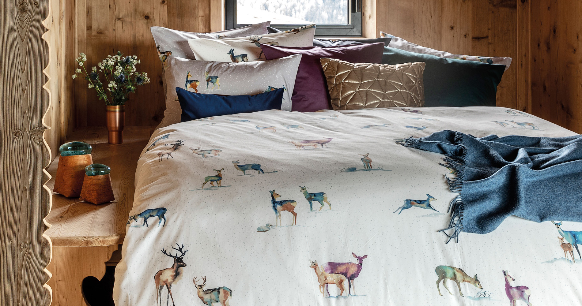 Marc Leopold Onlineshop for bed linen and home textiles of exclusive manufacturer
