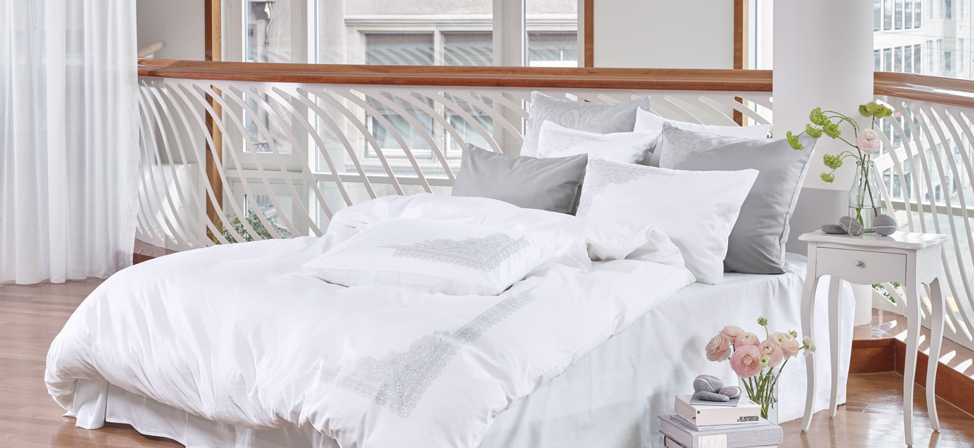 Luxury Nights Bed Linen by Christian Fischbacher