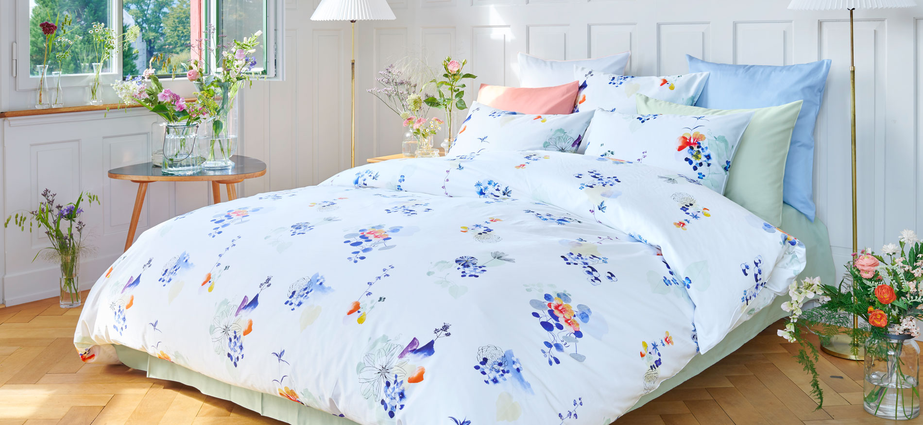 Christian Fischbacher Bed Linen