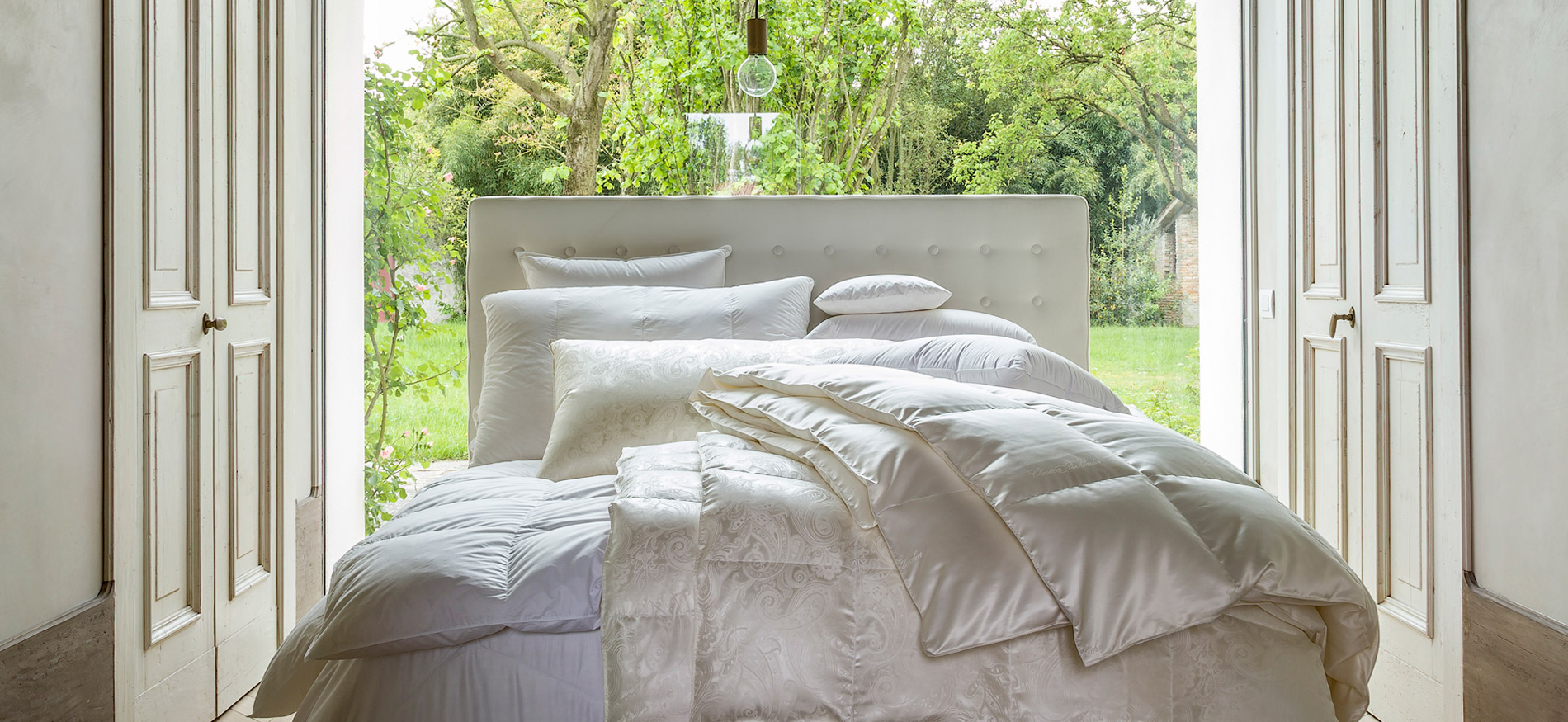Christian Fischbacher Duvets and Pillows