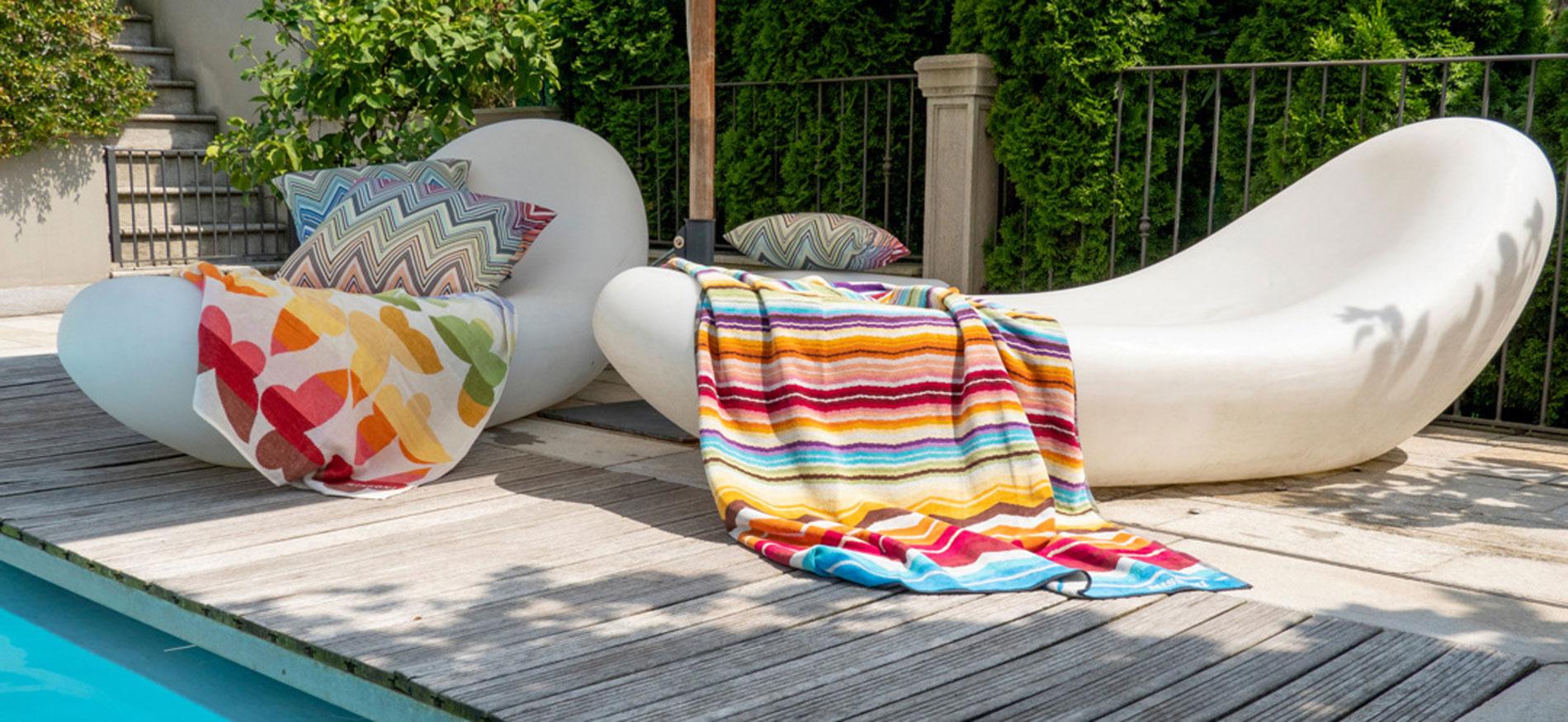 Missoni Home beach towels