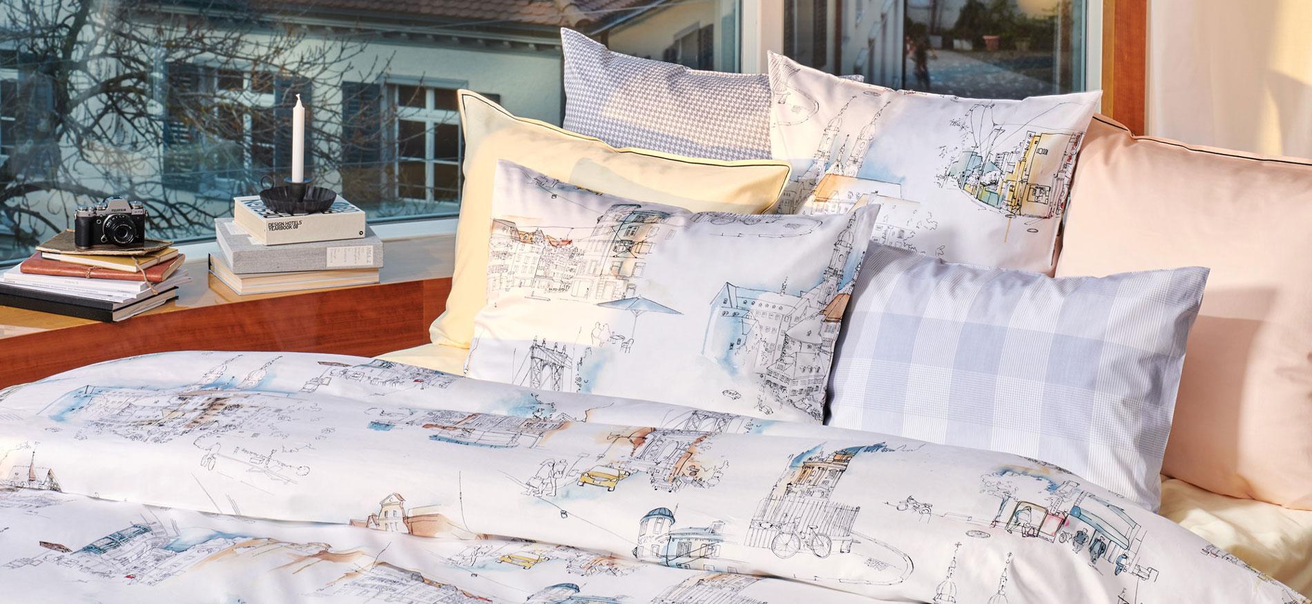 Christian Fischbacher Onlineshop for Bed Linen & Homefashion