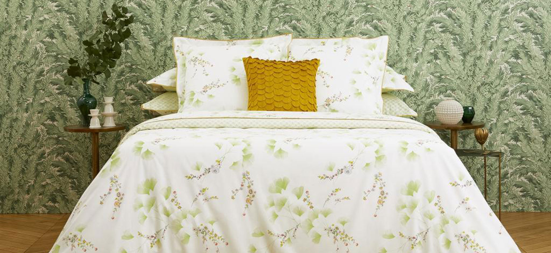 Yves Delorme bed linen and sheets